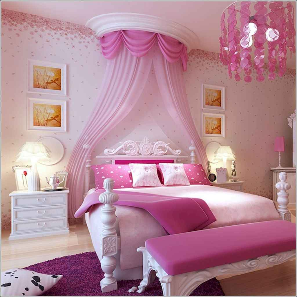 Cute decor bedroom for girls (15)