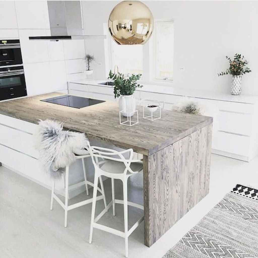 Easy apartment kitchen decorating ideas (51)