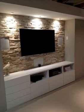 Inspired tv wall living room ideas (11)
