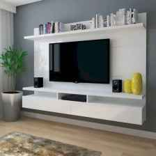 Inspired tv wall living room ideas (15)