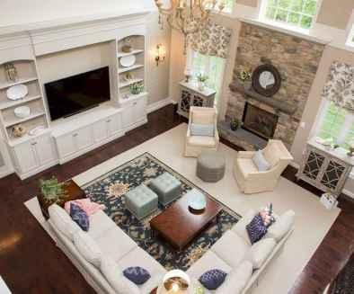 Inspired tv wall living room ideas (24)
