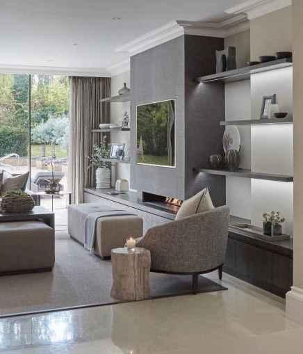 Inspired tv wall living room ideas (7)