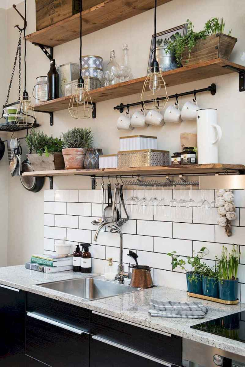 Simply apartement kitchen decorating ideas on a budget (59)