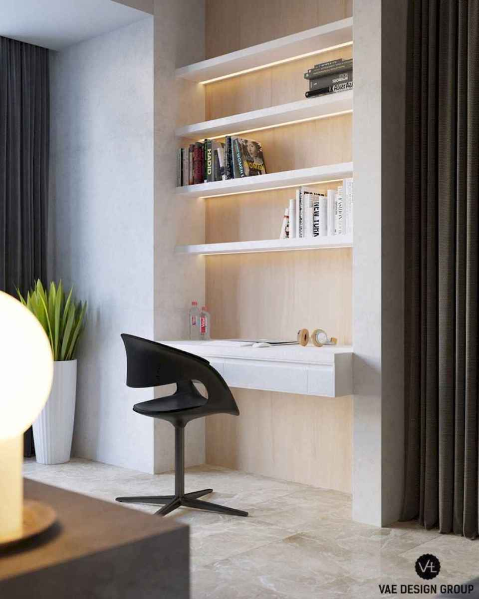 Smart solution for your workspace bedroom ideas (23)