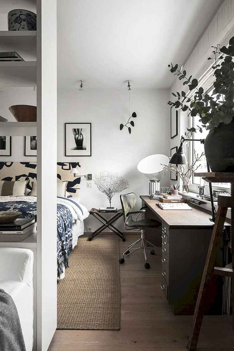 Smart solution for your workspace bedroom ideas (41)