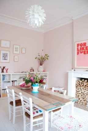 20 small and clean first apartment dining room ideas (10)