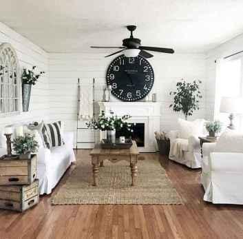 25 modern farmhouse living room first apartment ideas (10)
