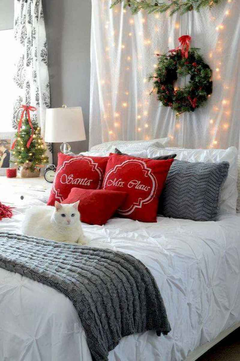 30+ diy apartment decorating christmas lights (20)