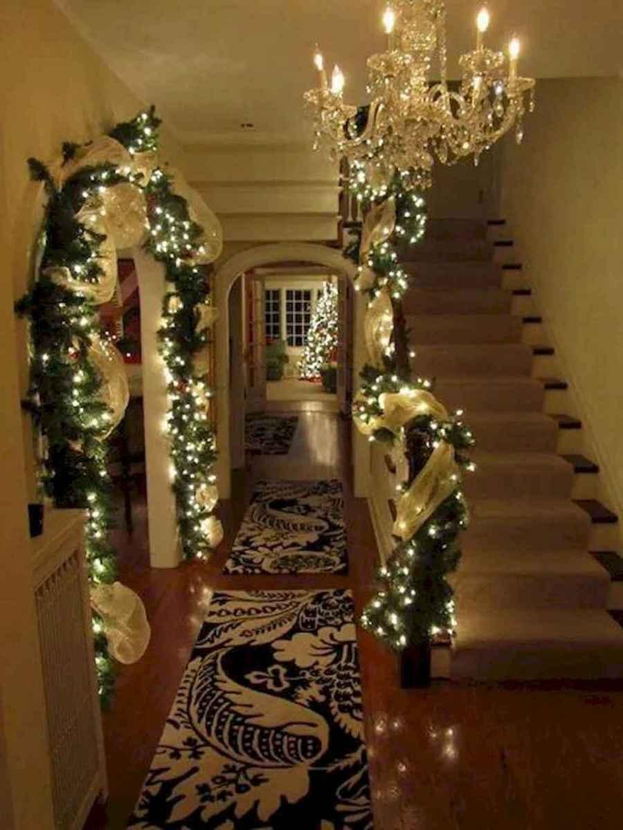 30+ diy apartment decorating christmas lights (23)