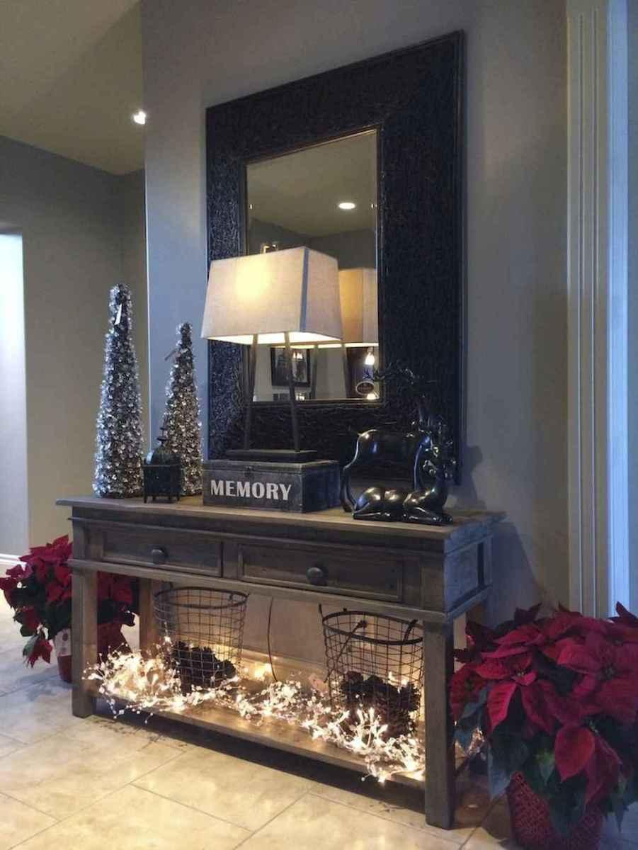 30+ diy apartment decorating christmas lights (26)