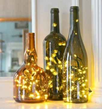 30+ diy apartment decorating christmas lights (35)