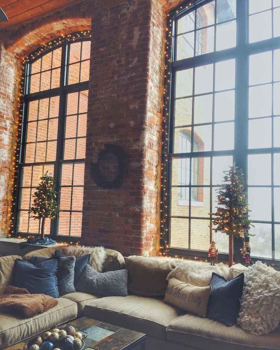 30+ diy apartment decorating christmas lights (36)