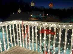 30+ diy apartment decorating christmas lights (4)