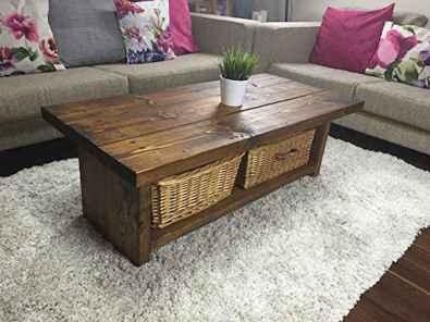 30 inspiring diy rustic coffee table ideas remodel (17)