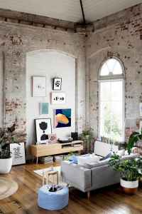 40 boho chic first apartment decor ideas (22)