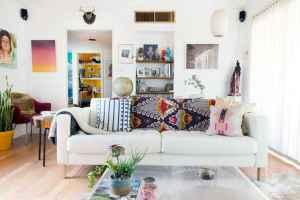 40 boho chic first apartment decor ideas (7)