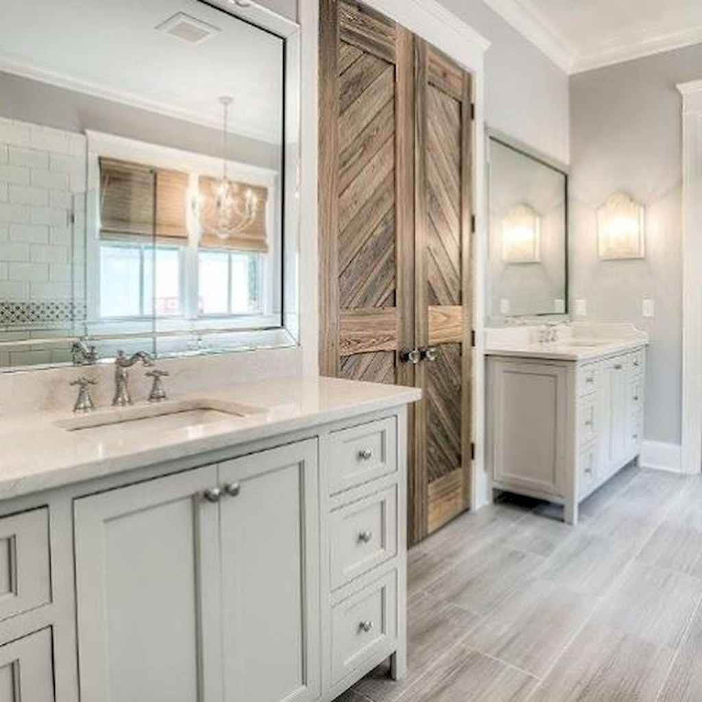 50 rustic farmhouse master bathroom remodel ideas 34 for 1 2 bathroom remodel ideas