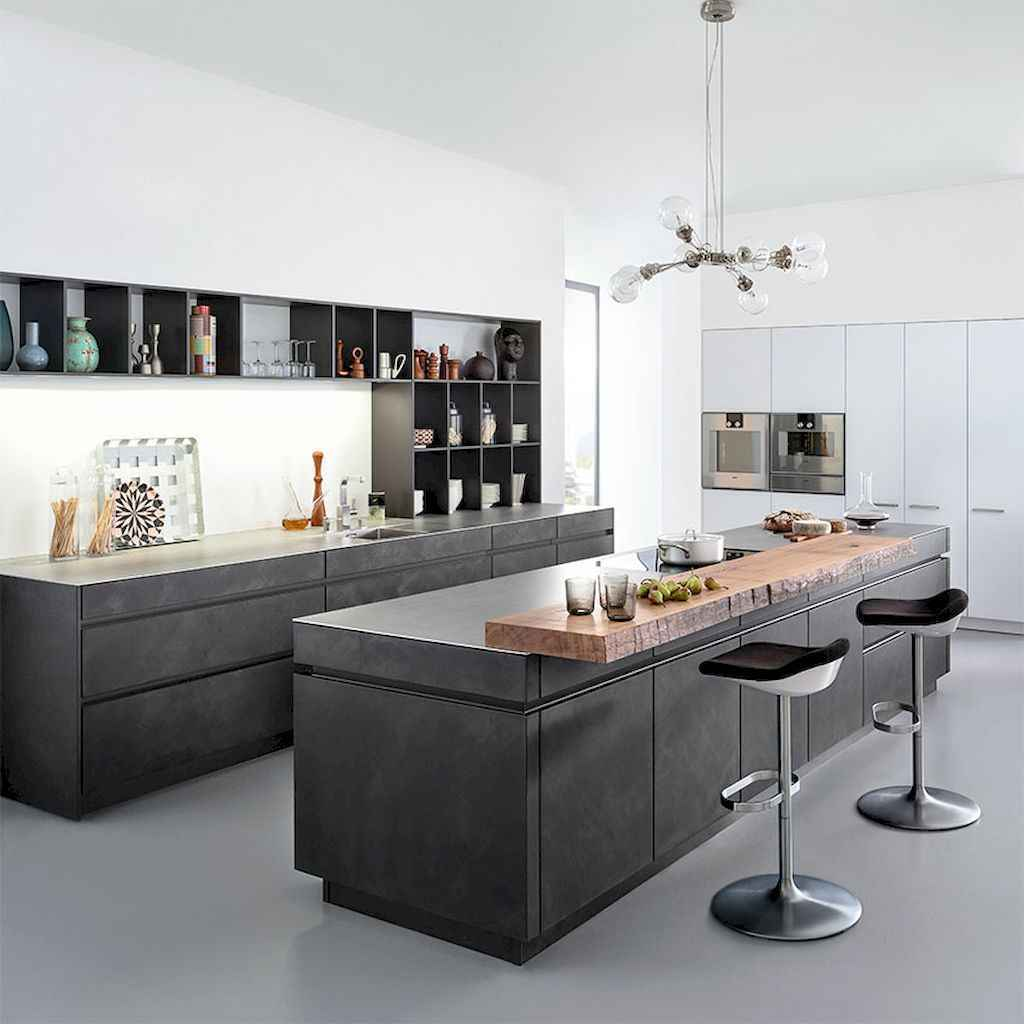 70 amazing industrial furniture ideas decoration for your kitchen (60)