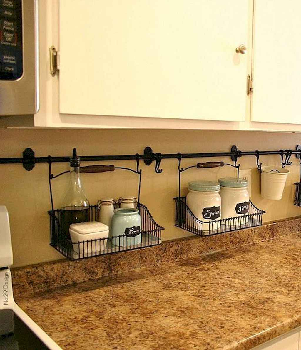 100 smart kitchen organization ideas for first apartment (27)