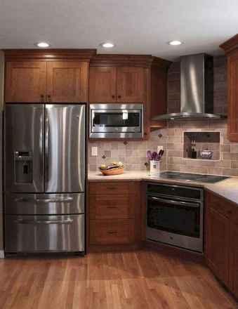150 gorgeous farmhouse kitchen cabinets makeover ideas (101)