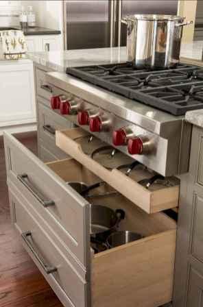 150 gorgeous farmhouse kitchen cabinets makeover ideas (108)