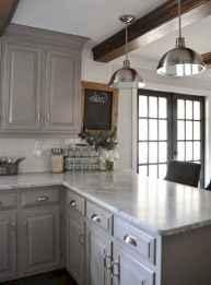 150 gorgeous farmhouse kitchen cabinets makeover ideas (116)