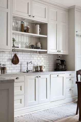 150 gorgeous farmhouse kitchen cabinets makeover ideas (135)