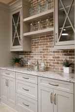 150 gorgeous farmhouse kitchen cabinets makeover ideas (139)