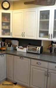 150 gorgeous farmhouse kitchen cabinets makeover ideas (43)