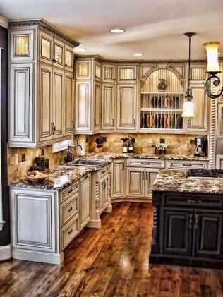 150 gorgeous farmhouse kitchen cabinets makeover ideas (50)
