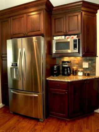 150 gorgeous farmhouse kitchen cabinets makeover ideas (51)