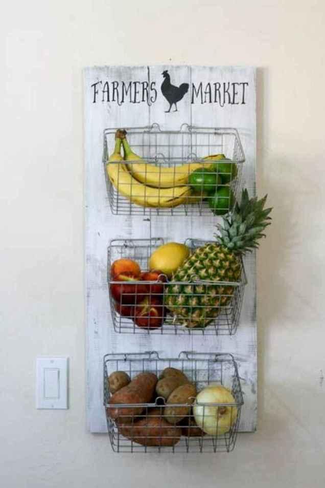 20 awesome diy farmhouse produce rack decor ideas (18)