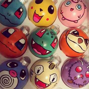 22 cute pokemon christmas tree decor ideas (2)