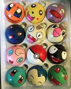 22 cute pokemon christmas tree decor ideas (5)