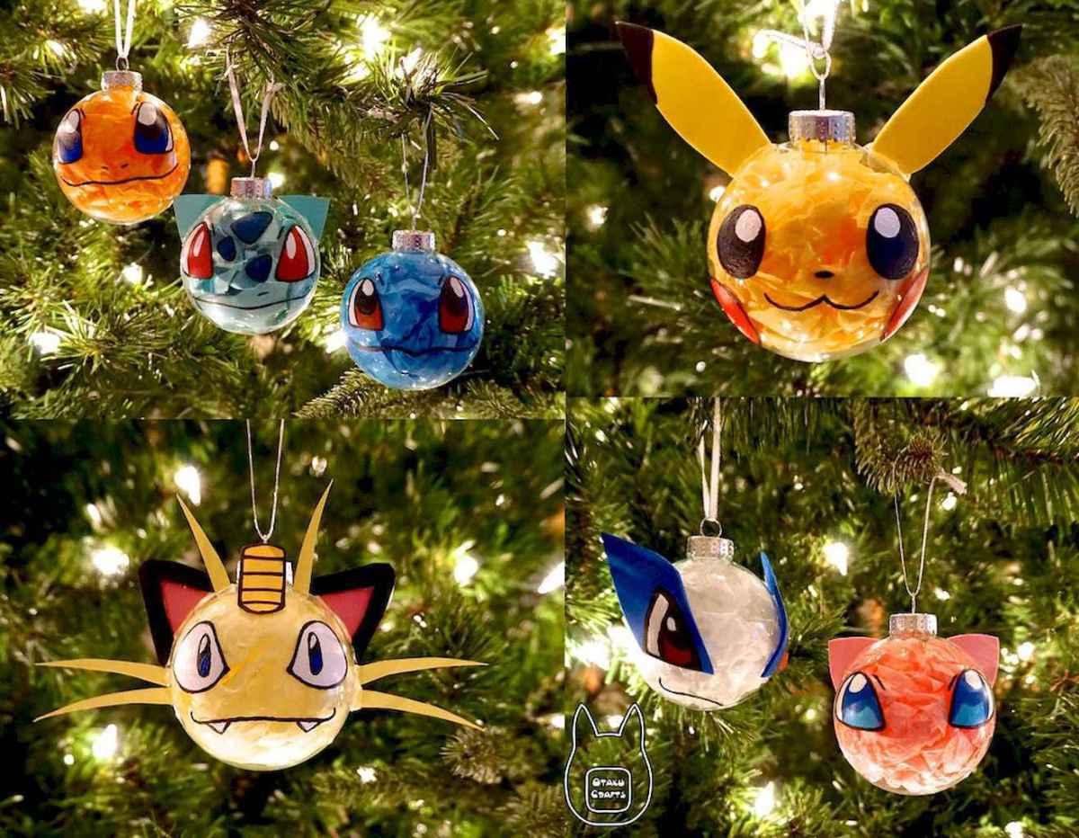 22 cute pokemon christmas tree decor ideas (6)
