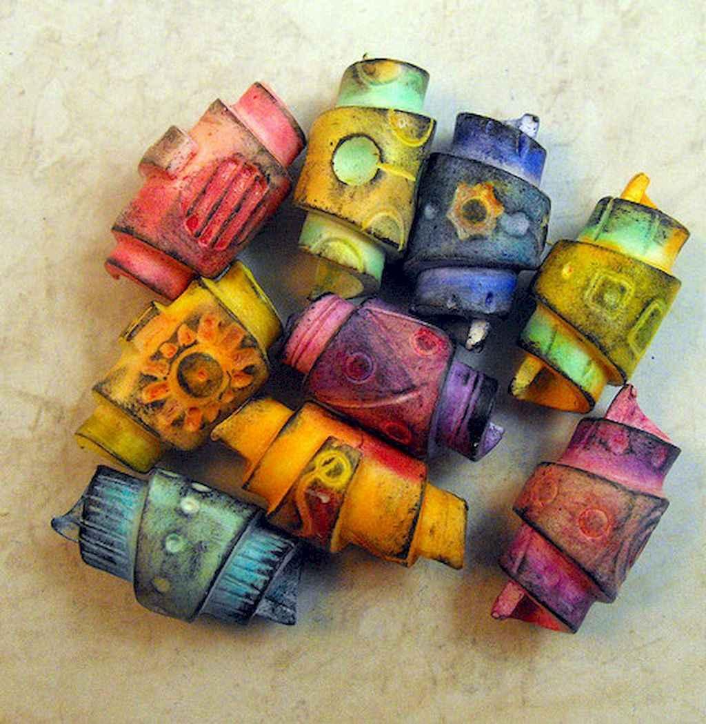 30 easy diy polymer clay beads ideas (2)