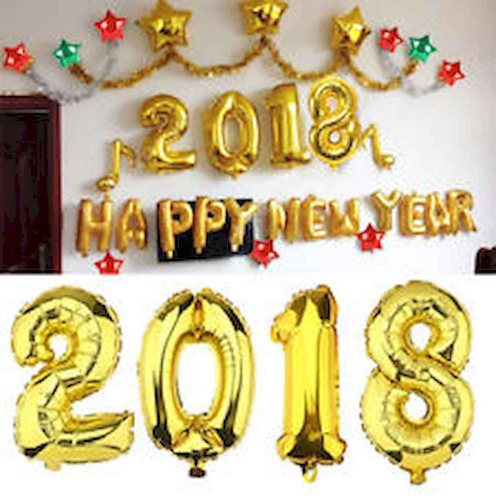 35 awesome 2018 new year party decorations ideas (31)