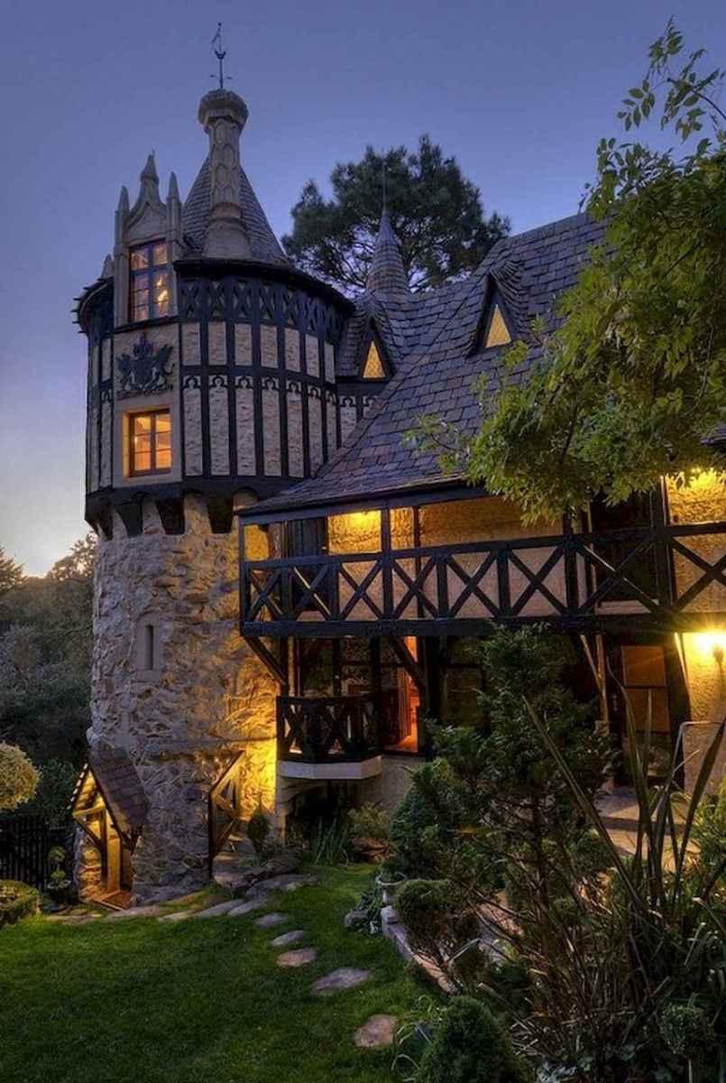 40 modern castle homes exterior landscaping (13)