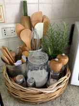 40 space saving storage and oragnization ideas for small kitchens redesign (12)