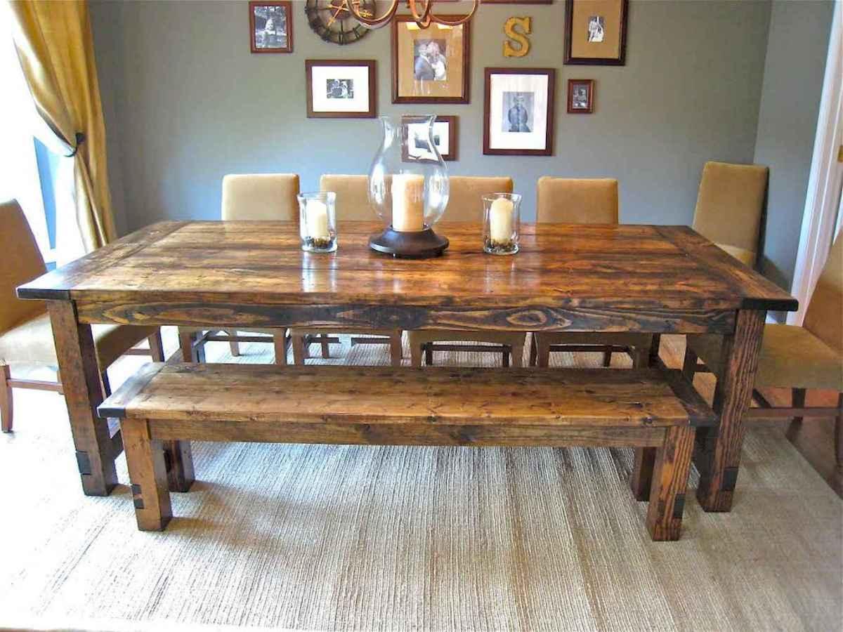 50 on a budget diy farmhouse table plans ideas (20)