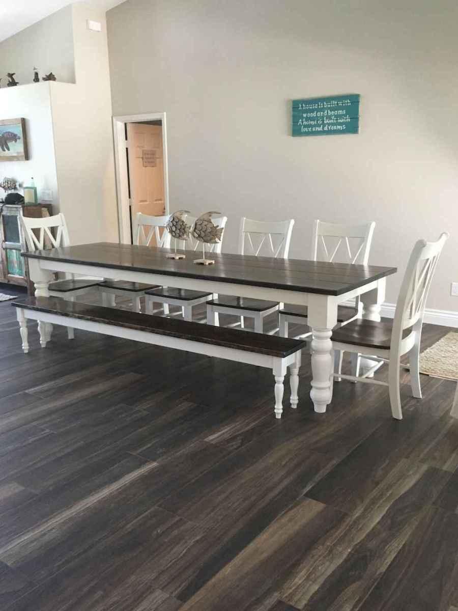 50 on a budget diy farmhouse table plans ideas (21)