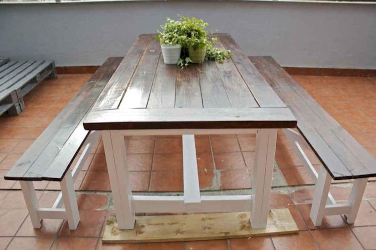 50 on a budget diy farmhouse table plans ideas (35)