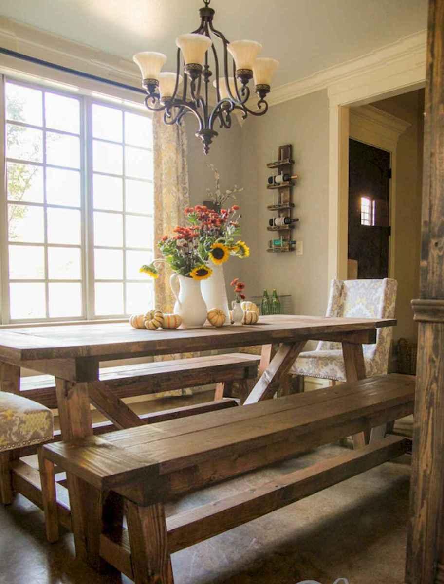 50 on a budget diy farmhouse table plans ideas (43)