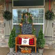 55 awesome christmas front porches decor ideas (1)
