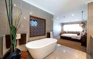 60 awesome open bathroom concept for master bedrooms decor ideas (27)