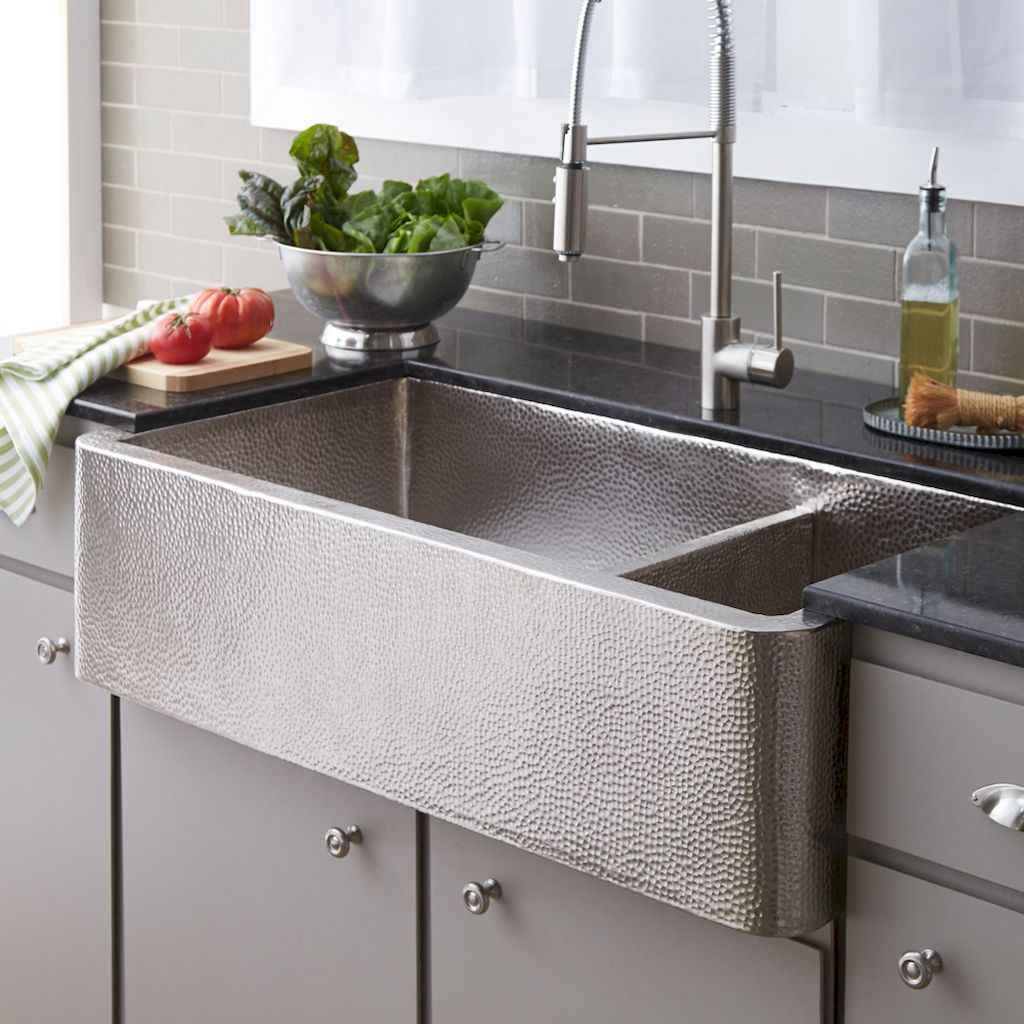 75 stunning farmhouse kitchen sink ideas decor (10)