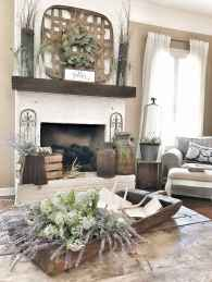 80 incridible rustic farmhouse fireplace ideas makeover (11)