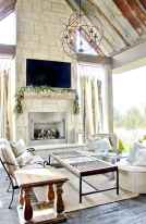 80 incridible rustic farmhouse fireplace ideas makeover (32)