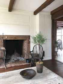 80 incridible rustic farmhouse fireplace ideas makeover (33)
