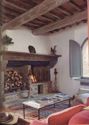 80 incridible rustic farmhouse fireplace ideas makeover (46)